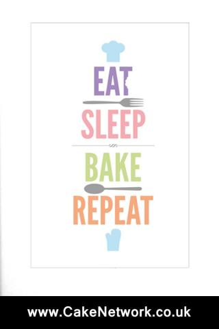 eat sleep bake repeat