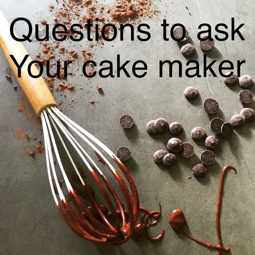 qs to ask your cake maker